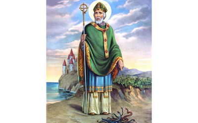 "From ""The Breastplate of St. Patrick\"""